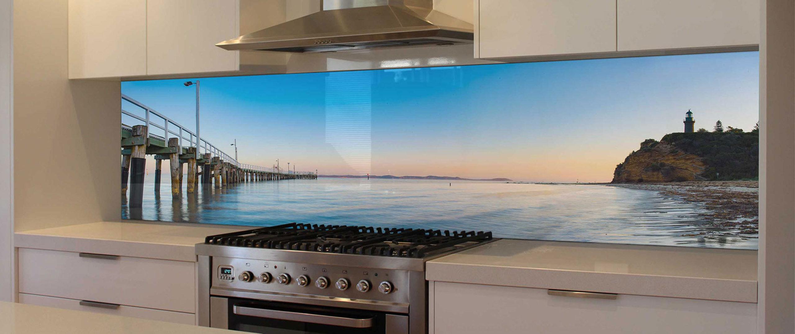 Кухонный фартук — С любимым пейзажем