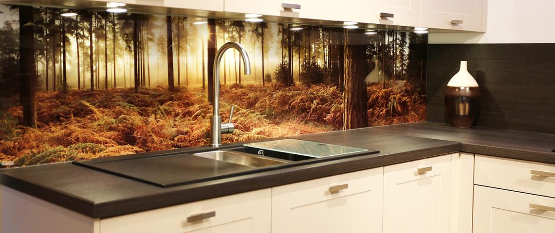 Кухонный фартук — Можно изготовить любой пейзаж